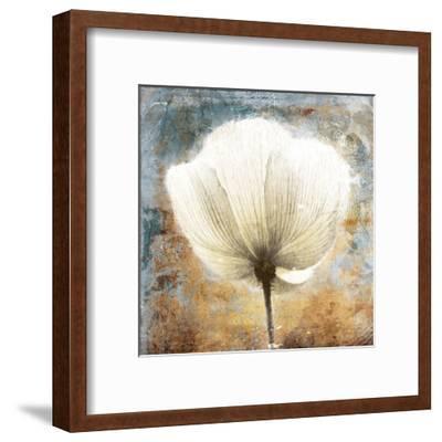 Golden White Blues-Jace Grey-Framed Art Print
