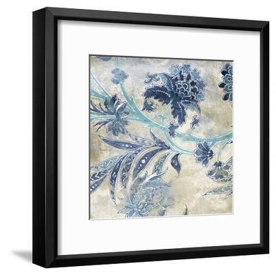 Floral Sky Mate-Jace Grey-Framed Art Print