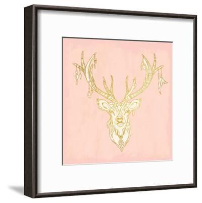 Native Buck-Kimberly Allen-Framed Art Print