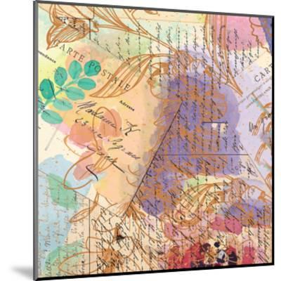 Postage Rose 3-Kimberly Allen-Mounted Art Print