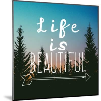 Insta Life Is Beautiful-Jelena Matic-Mounted Art Print