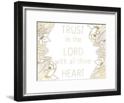 Trust In The Lord-Kimberly Allen-Framed Art Print