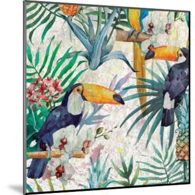 Tropical Life 1-Kimberly Allen-Mounted Art Print