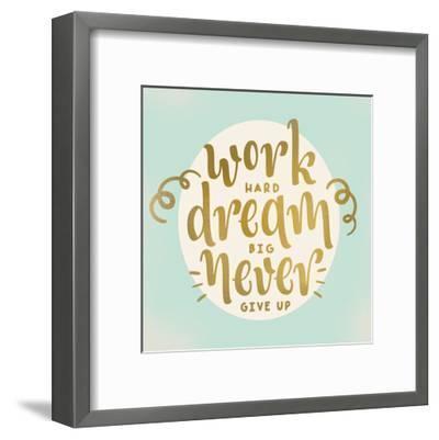 Work Dream-Kimberly Allen-Framed Art Print