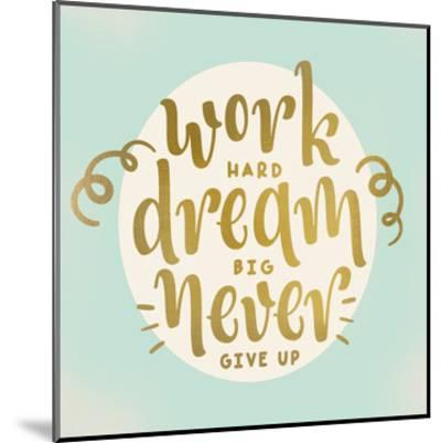 Work Dream-Kimberly Allen-Mounted Art Print