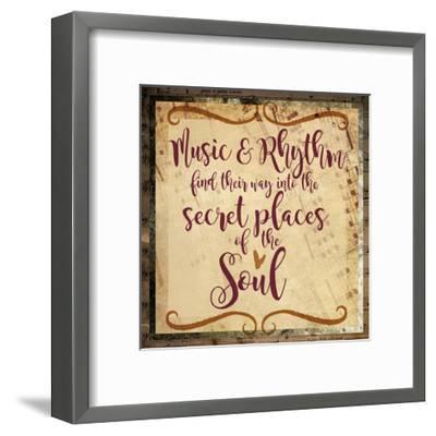 Music and Rhythm-Melody Hogan-Framed Art Print