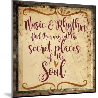 Music and Rhythm-Melody Hogan-Mounted Art Print
