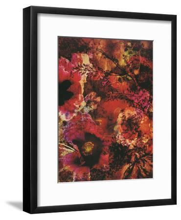 Crimson Florals-Smith Haynes-Framed Art Print