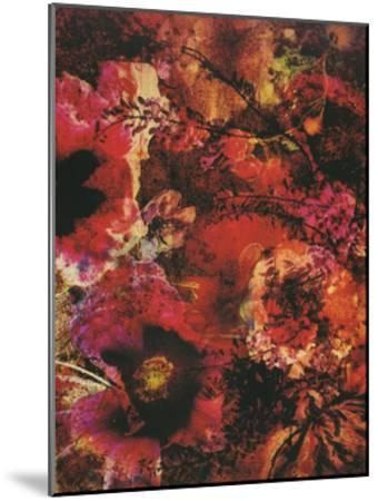 Crimson Florals-Smith Haynes-Mounted Art Print