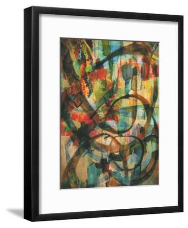 Stained Glass Graffiti-Smith Haynes-Framed Art Print