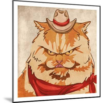 Whiskers McGee-Marcus Prime-Mounted Art Print