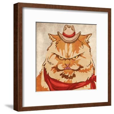 Whiskers McGee-Marcus Prime-Framed Art Print