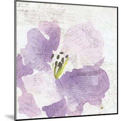 Purple Squared 1-Kimberly Allen-Mounted Art Print