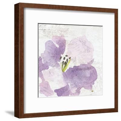 Purple Squared 1-Kimberly Allen-Framed Art Print
