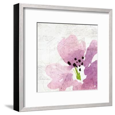 Purple Squared 2-Kimberly Allen-Framed Art Print