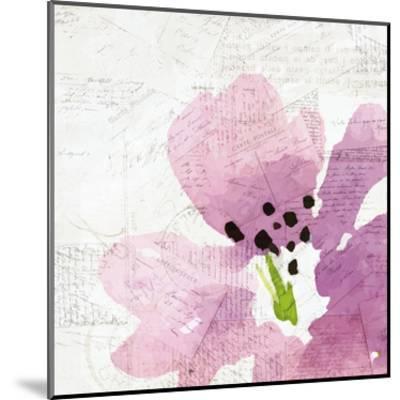 Purple Squared 2-Kimberly Allen-Mounted Art Print