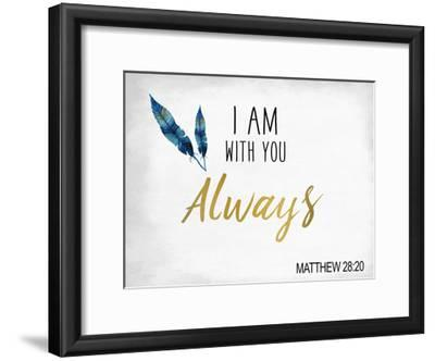 I am With You-Kimberly Allen-Framed Art Print