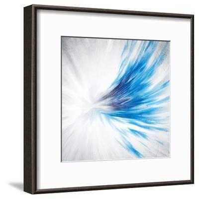Indigo Streak-Kimberly Allen-Framed Art Print