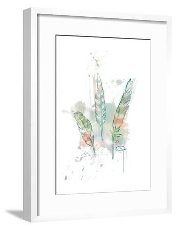 Three Feathers Wild-OnRei-Framed Art Print