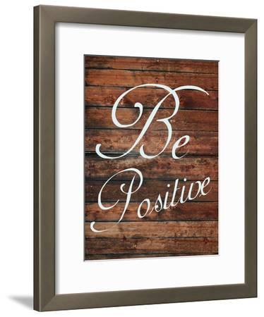 Be Positive-Sheldon Lewis-Framed Art Print