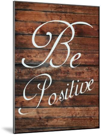 Be Positive-Sheldon Lewis-Mounted Art Print