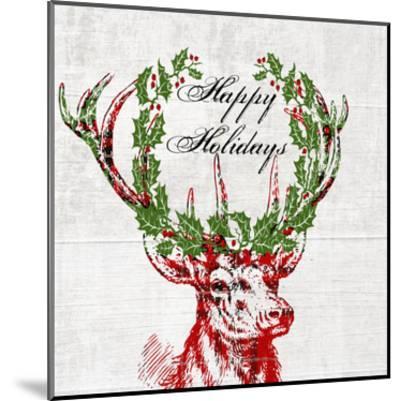 Hello Deer 3-Sheldon Lewis-Mounted Art Print