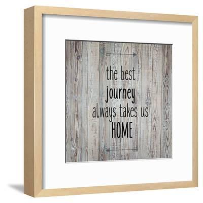 The Best Journey Always-Kimberly Allen-Framed Art Print