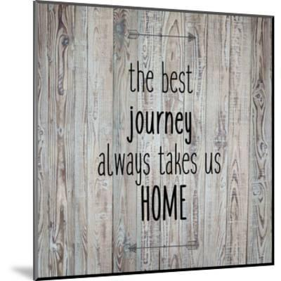 The Best Journey Always-Kimberly Allen-Mounted Art Print