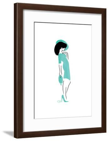 Who Me-OnRei-Framed Art Print