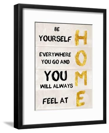 Be Yourself-Sheldon Lewis-Framed Art Print