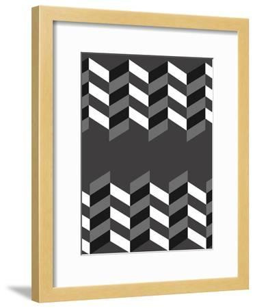 Up And Down-OnRei-Framed Art Print