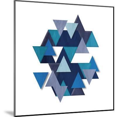 Floating Blueberry Gems-OnRei-Mounted Art Print