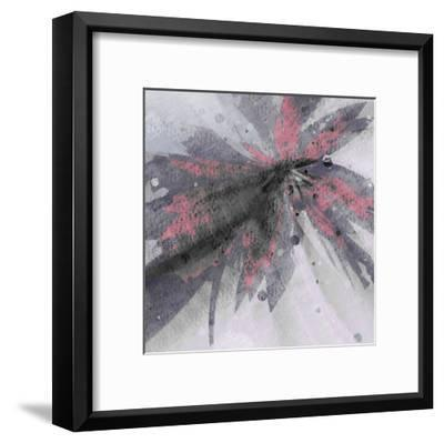 Glamour Plum 2-Kimberly Allen-Framed Art Print
