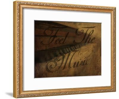 The Pianist-Sheldon Lewis-Framed Art Print