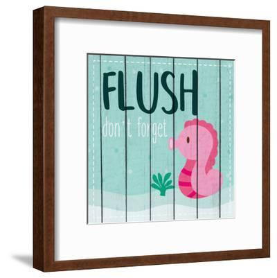 Under the Sea Rules 1-Kimberly Allen-Framed Art Print