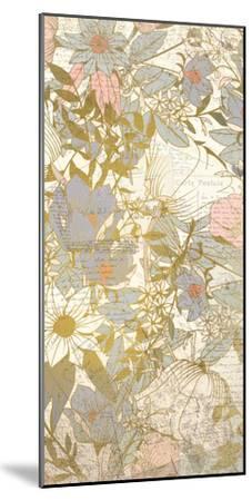 Carte Postale Blooms B-Kimberly Allen-Mounted Art Print
