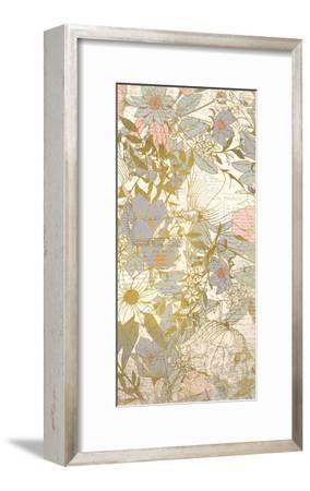 Carte Postale Blooms B-Kimberly Allen-Framed Art Print