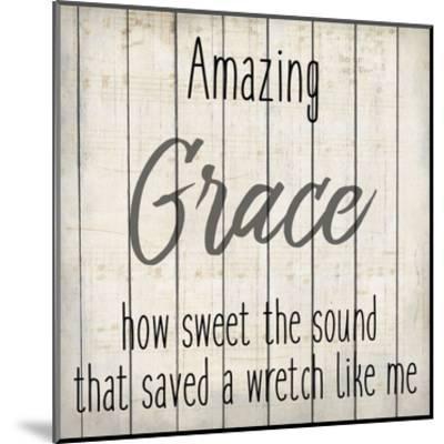 Amazing Grace 1-Kimberly Allen-Mounted Art Print