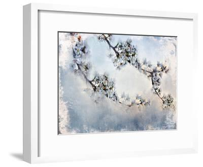 Magnolia Branch-Kimberly Allen-Framed Art Print
