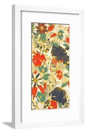 Carte Postale Blooms Henna 2-Kimberly Allen-Framed Art Print
