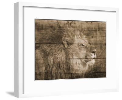 King-Sheldon Lewis-Framed Art Print