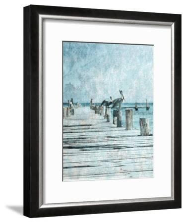 Coastal Pride 2-Sheldon Lewis-Framed Art Print