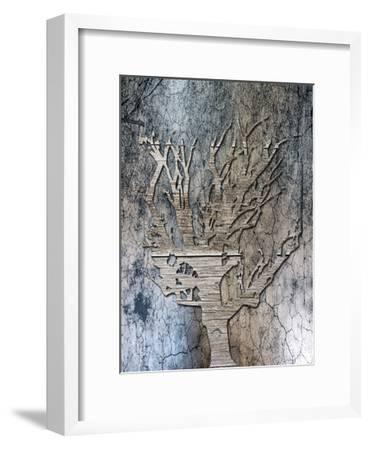 Walnut Grove-Sheldon Lewis-Framed Art Print