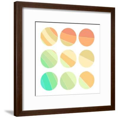 In Color 2-Kimberly Allen-Framed Art Print