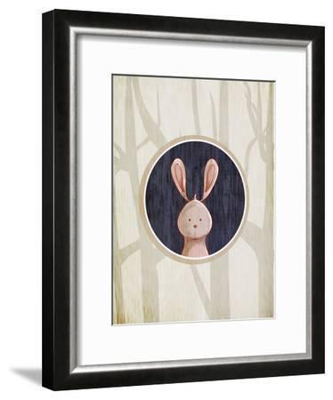 Forest Animals 4-Kimberly Allen-Framed Art Print