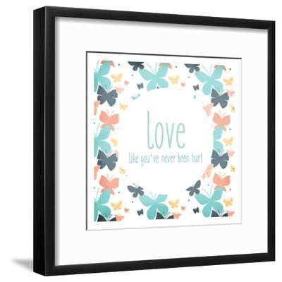 Be You 3-Kimberly Allen-Framed Art Print