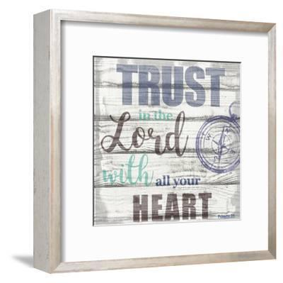 Trust In The Lord-Taylor Greene-Framed Art Print