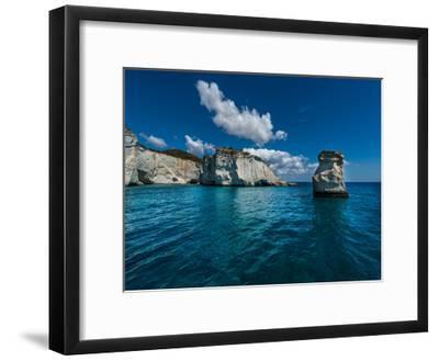 Milos Rocks 1-Vladimir Kostka-Framed Art Print