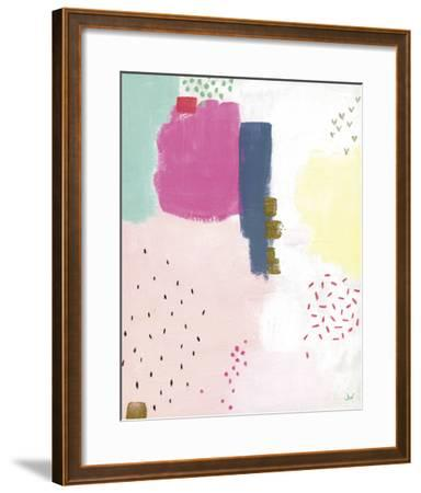 Dots and Colours - Speckle-Joelle Wehkamp-Framed Art Print