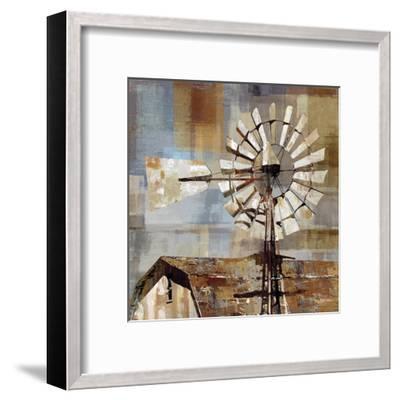 Long Barn - Windmill-Mark Chandon-Framed Art Print